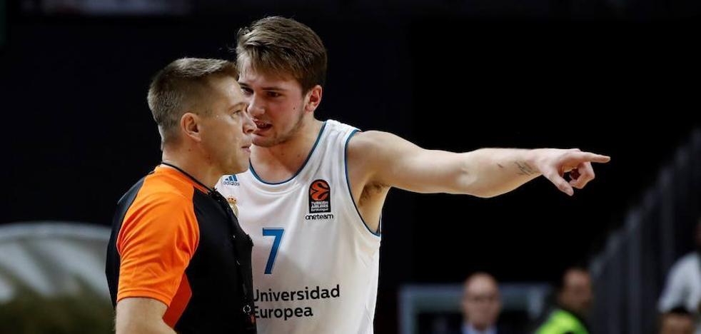La Euroliga multa a Doncic con 4.500 euros tras su expulsión frente al Valencia Basket