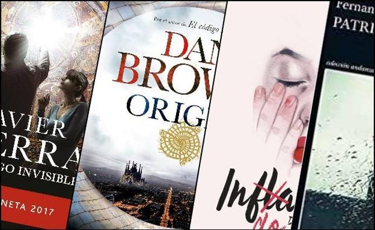 Los libros más vendidos del del 17 al 23 de diciembre de 2017
