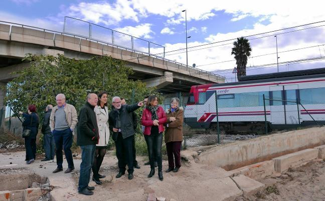 Alboraya denuncia que la parada de Port Saplaya quede fuera del Plan de Cercanías
