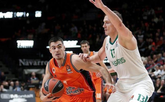 El Valencia Basket dice casi adiós a la Euroliga