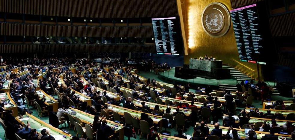La ONU condena por amplia mayoría la decisión de EE UU sobre Jerusalén