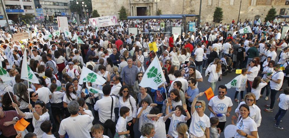 El Ayuntamiento de Valencia se olvida de la concertada en una jornada educativa