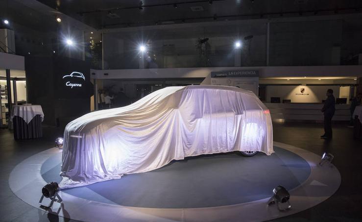 Presentación Porsche Cayenne