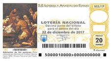 Comprobar Lotería de Navidad 2017: números premiados en el Sorteo de Navidad