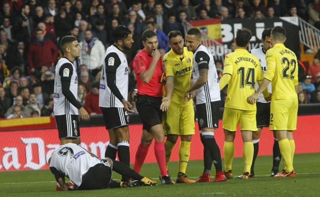 Trujillo nunca ve manos a favor del Valencia