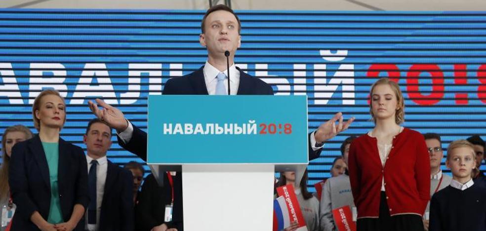 El opositor ruso Navalni mantiene el pulso para participar en las presidenciales rusas