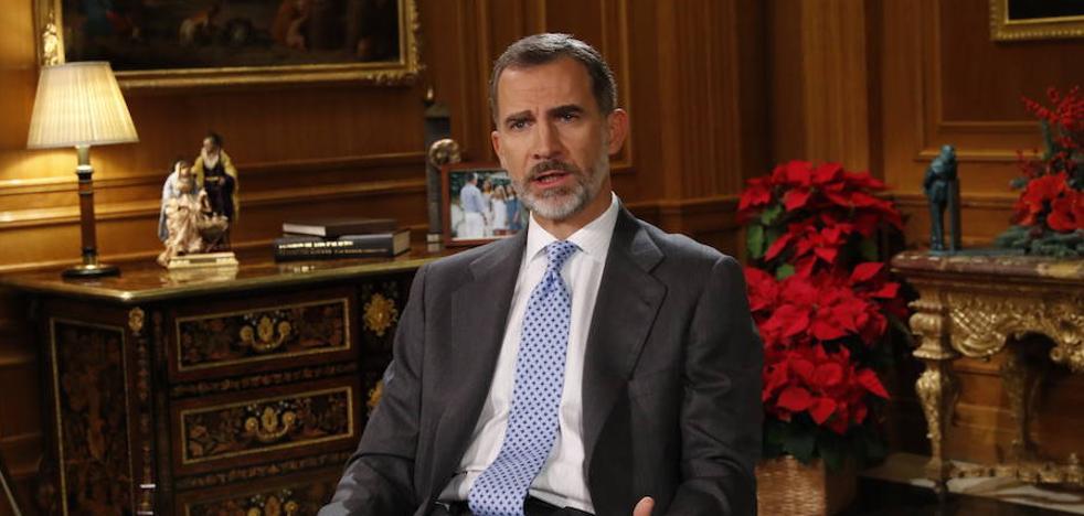 El Rey pide a los independentistas no llevar a Cataluña «al enfrentamiento y la exclusión»