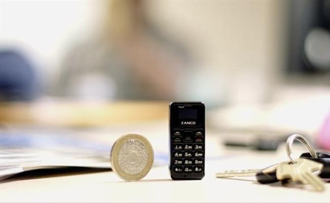 El móvil más pequeño del mundo pesa 13 gramos