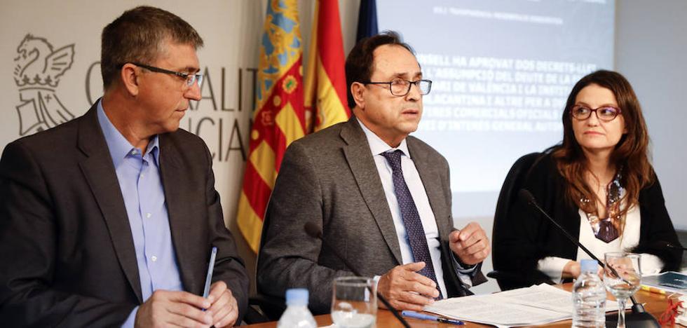 El Consell asume la deuda de 500 millones de Feria Valencia e IFA y aprueba su privatización parcial