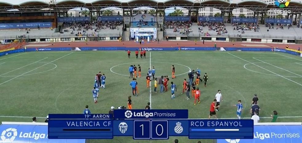 El Valencia disputará la final de la Liga Promises contra el Barcelona