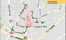 La plaza del Ayuntamiento de Valencia cerrará de Nochevieja a Año Nuevo