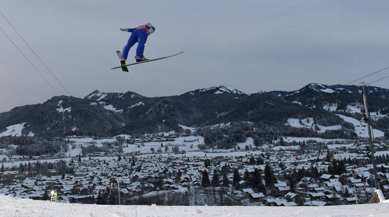 Fotos del Torneo de los Cuatro Trampolines de saltos de esquí