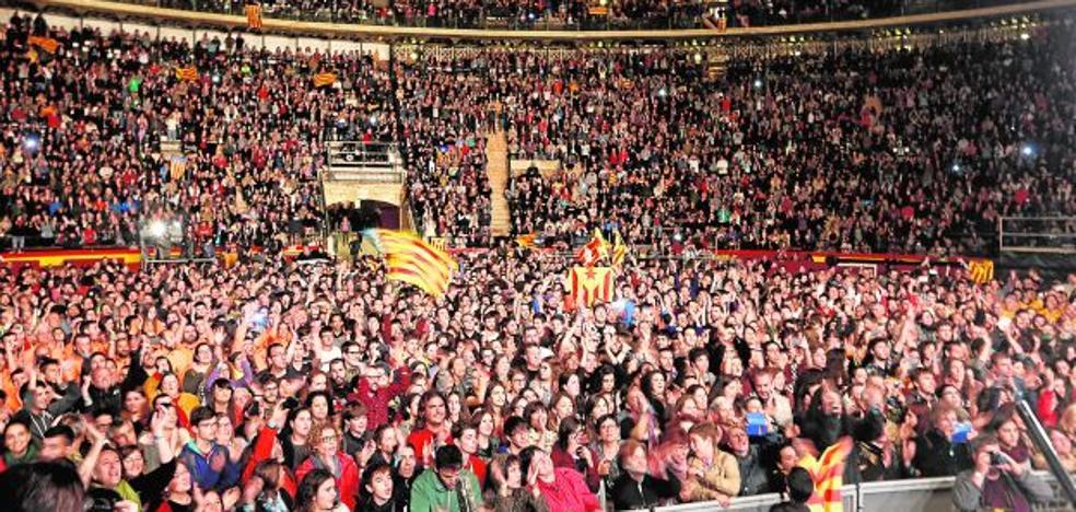 La izquierda lleva repartidos 1,7 millones de euros a entidades catalanistas