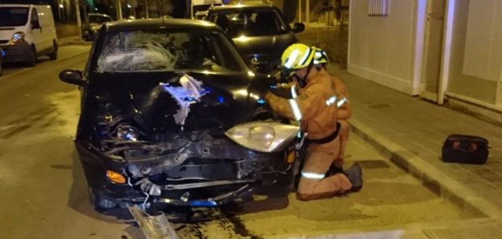 Los bomberos inician el año en Valencia con actuaciones en tres incendios y un accidente