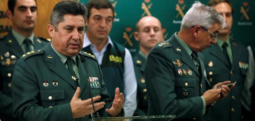 La Guardia Civil coteja datos para descartar otras agresiones de 'el Chicle'