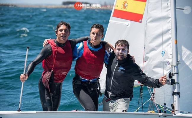 Los hermanos Luján, campeones del mundo de vela en 420