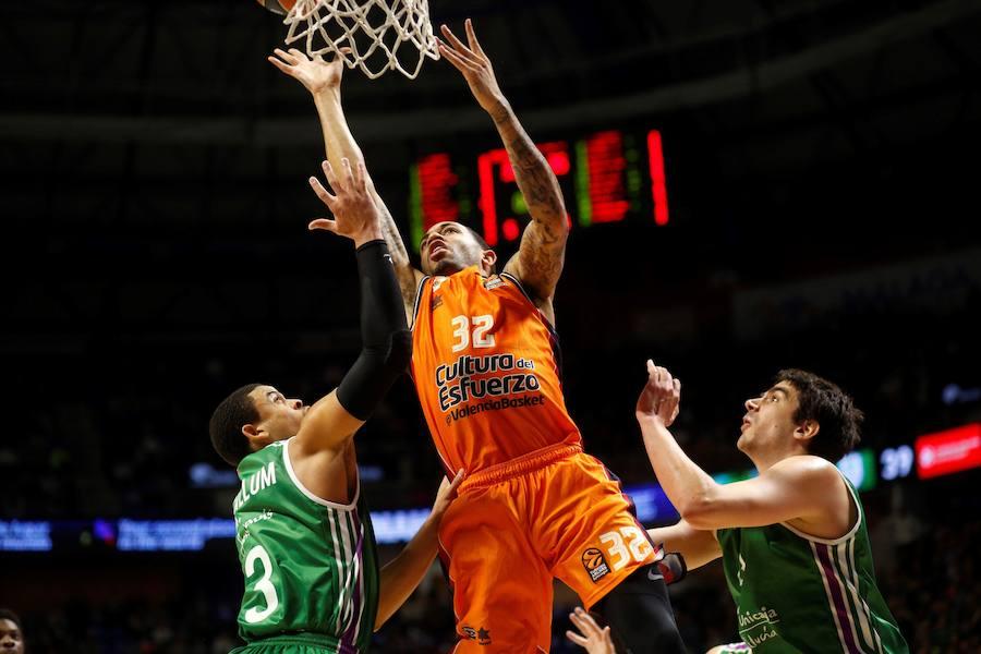 Fotos del Unicaja Málaga-Valencia Basket