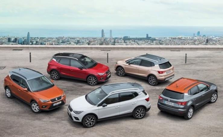 Fotos de los automóviles SUV 'made in Spain'