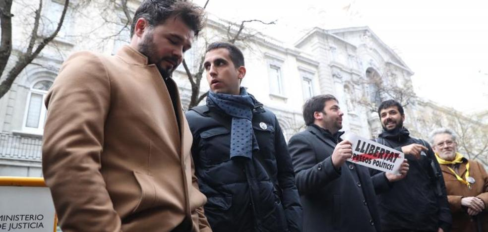 Junqueras se presenta como un «hombre de paz» para salir de prisión