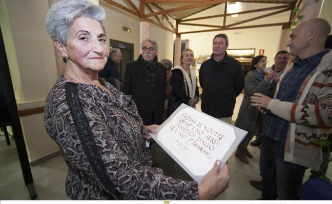 El Grau de Gandia llora la pérdida de Mari Carmen Pérez