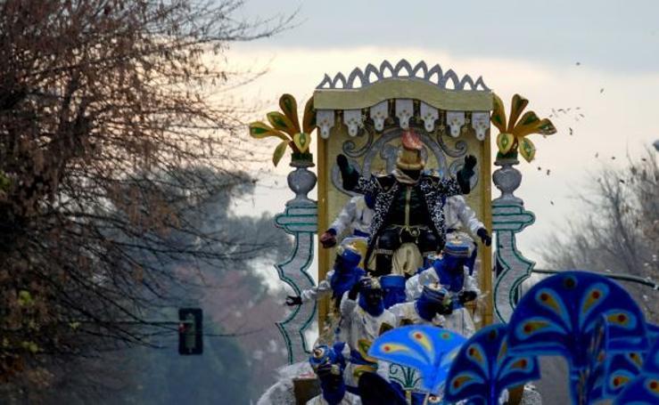 Fotos de las cabalgatas de los Reyes Magos en España
