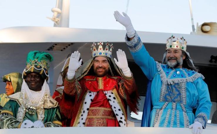 Fotos de la cabalgata de los Reyes Magos 2018 en Valencia