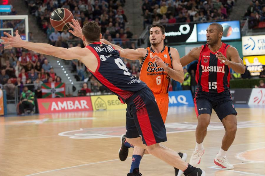 Fotos del Baskonia-Valencia Basket