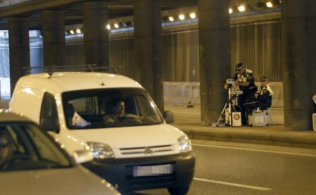 El radar de la Policía Local está esta tarde en once grandes avenidas de Valencia