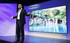 Llega el MicroLed con un televisor modular de Samsung de 146 pulgadas
