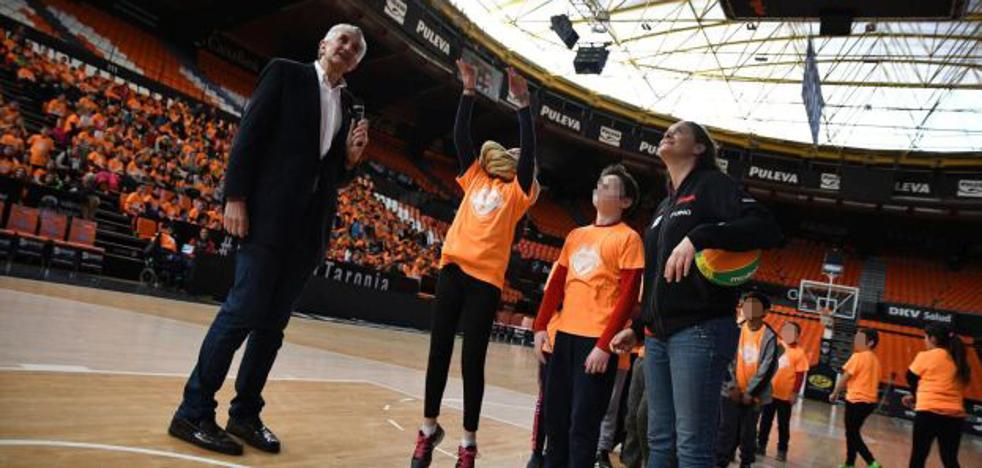 Más de 400 niños en l'Alqueria del Basket