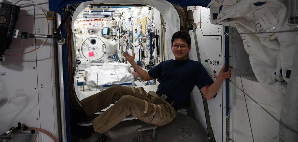 Norishige Kanai ha crecido nueve centímetros en el espacio