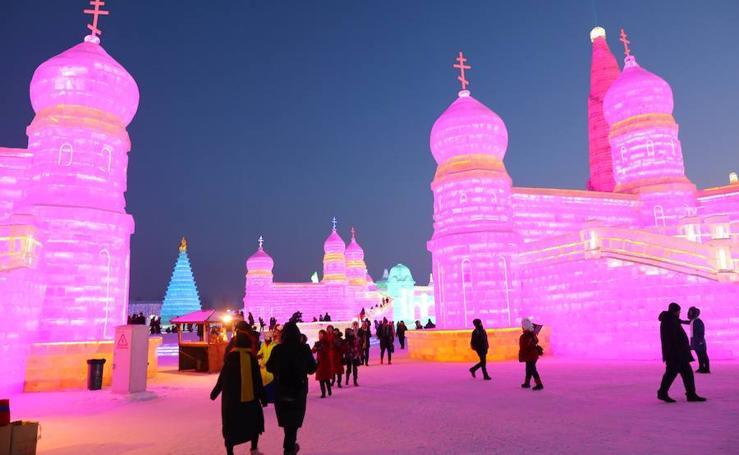 Fotos de Harbin, la ciudad de hielo
