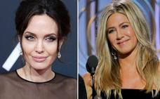 El 'desplante' de Angelina Jolie a Jennifer Aniston en los Globos de Oro