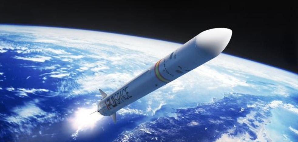 El cohete espacial valenciano, listo para despegar