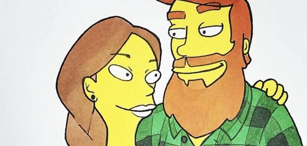 Sorprende a su novia dibujándola en 10 estilos distintos y conquista la red