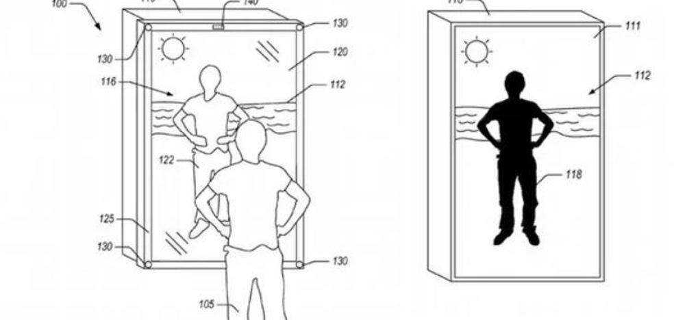Amazon patenta un espejo 'inteligente' que ayudará a saber cómo nos queda la ropa