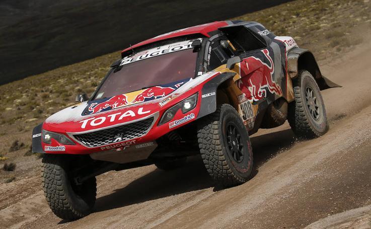 Las mejores imágenes de la sexta etapa del Dakar