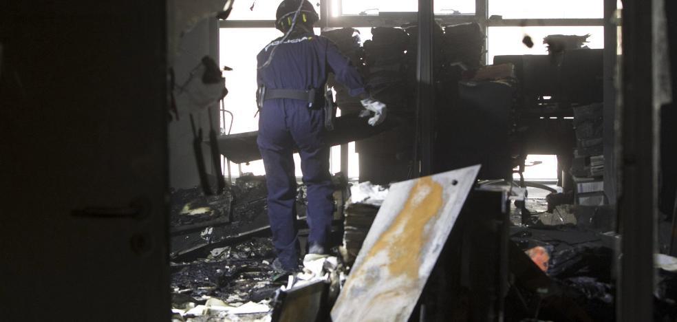 El incendio en la Ciudad de la Justicia ha costado casi tres millones