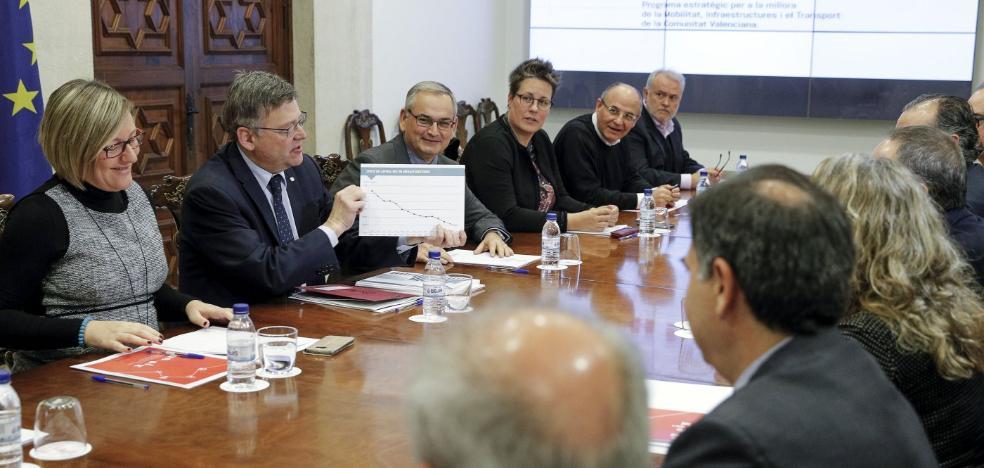 La Generalitat presenta una estrategia de infraestructuras y transporte sin presupuesto