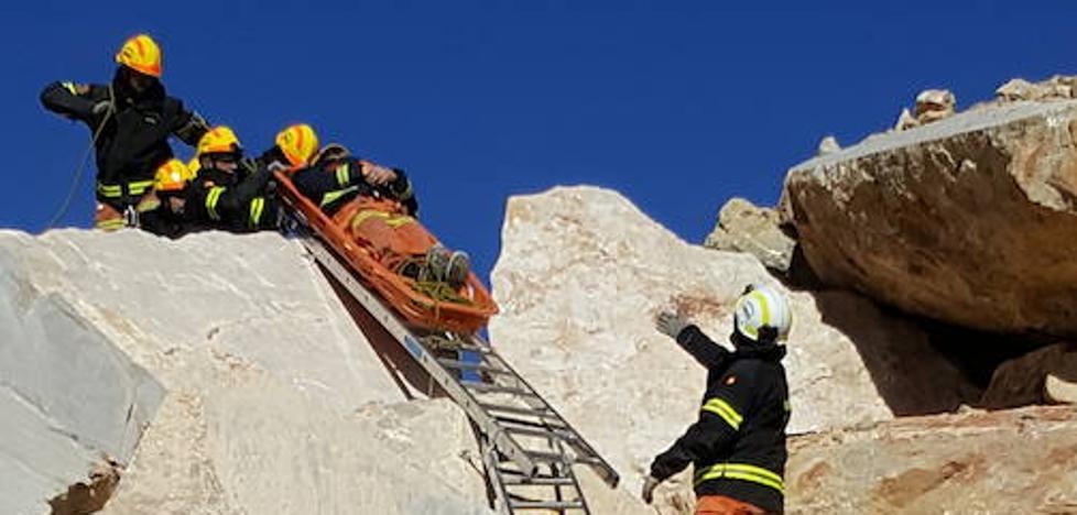 Bomberos del Consorcio de Valencia crea un grupo especial para catástrofes