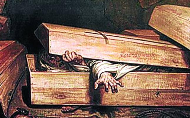 La pesadilla de ser enterrado vivo
