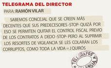 Telegrama para Ramón Vilar