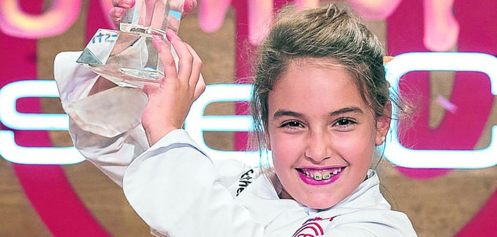Esther, ganadora de Masterchef junior: «Soy feliz cuando me pongo el delantal»