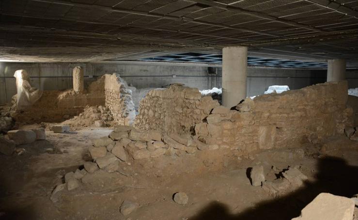 Fotos del Palacio del Almirante que abrirá al público las ruinas romanas del sótano