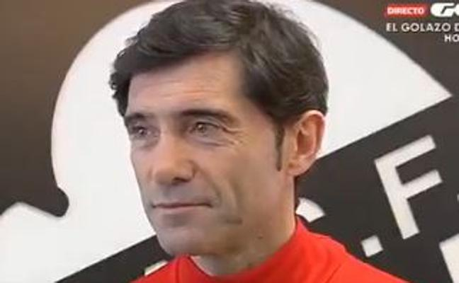 Marcelino: «La final de Copa es una ilusión»
