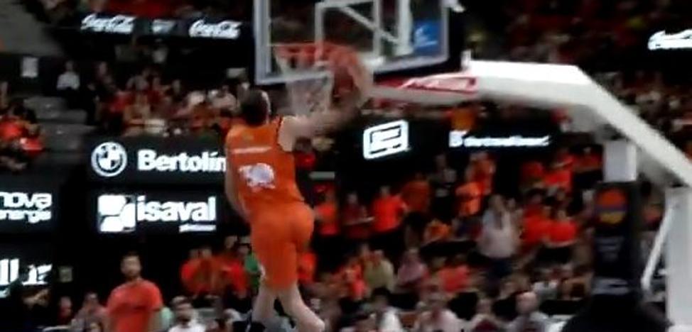 El concurso de mates para aficionados del Valencia Basket tendrá 8 participantes