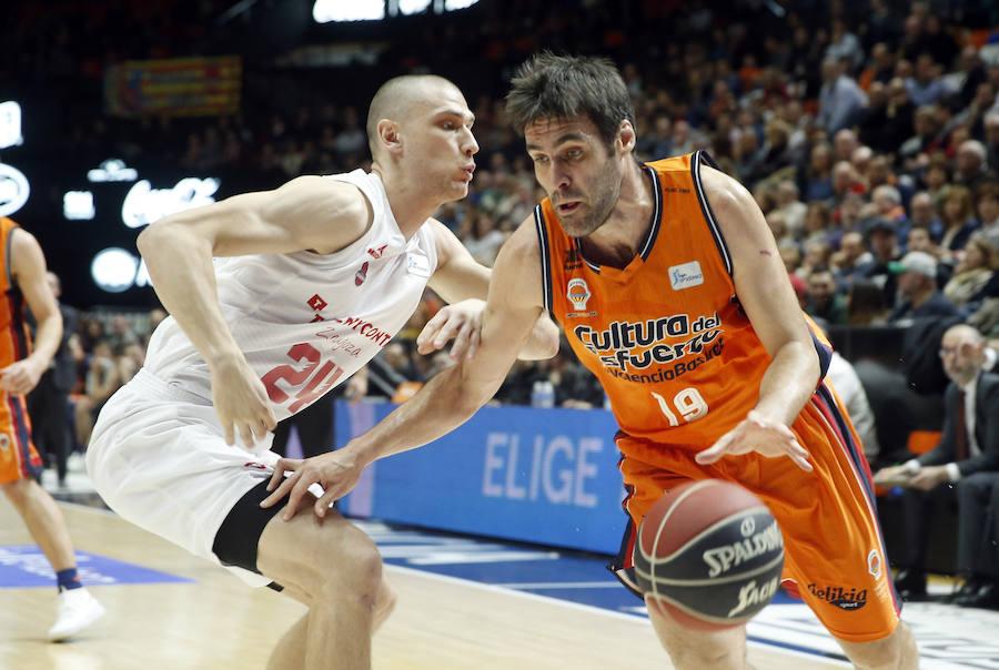 Fotos del Valencia Basket-Tecnyconta Zaragoza