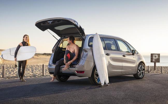 Serie exclusiva del Citroën C4 Rip Curl