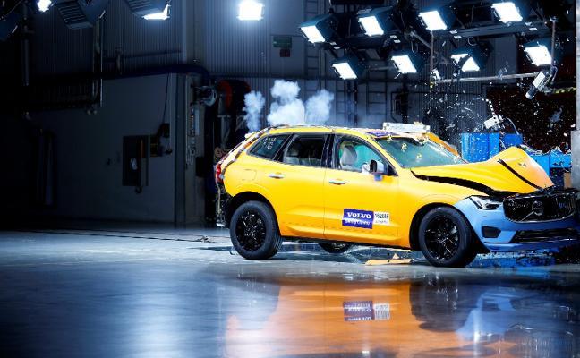 Volvo XC60, el coche nuevo más seguro de 2017