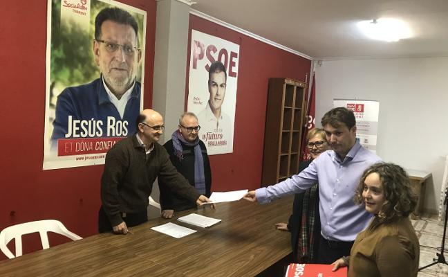 Andrés Campos presenta su candidatura a secretario general del PSPV de la comarca